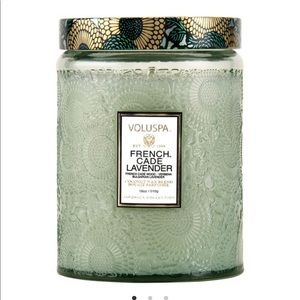 VALUSPA NEW FRENCH CADE LAVENDER LARGE JAR CANDLE